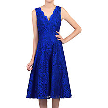Buy Jolie Moi Scalloped Lace Prom Dress, Royal Blue Online at johnlewis.com