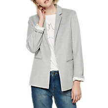 Buy Mint Velvet Premium Boyfriend Blazer, Silver Grey Online at johnlewis.com