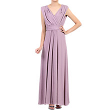 Buy Jolie Moi Plunge Neck Draped Maxi Dress Online at johnlewis.com