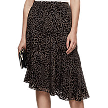 Buy Reiss Neelam Burn-Out Detail Midi Skirt Online at johnlewis.com