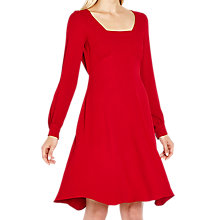 Buy Ghost Rosie Dress, Red Online at johnlewis.com
