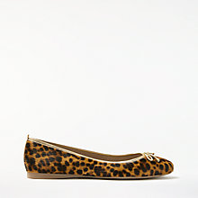 Buy Boden Ballerina Pumps, Leopard Online at johnlewis.com