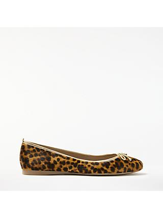 Boden Ballerina Pumps, Leopard Leather