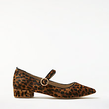 Buy Boden Rosabel Court Shoes, Leopard Online at johnlewis.com