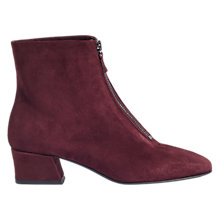 Buy Jigsaw Aldeburgh Zip Front Ankle Boots Online at johnlewis.com