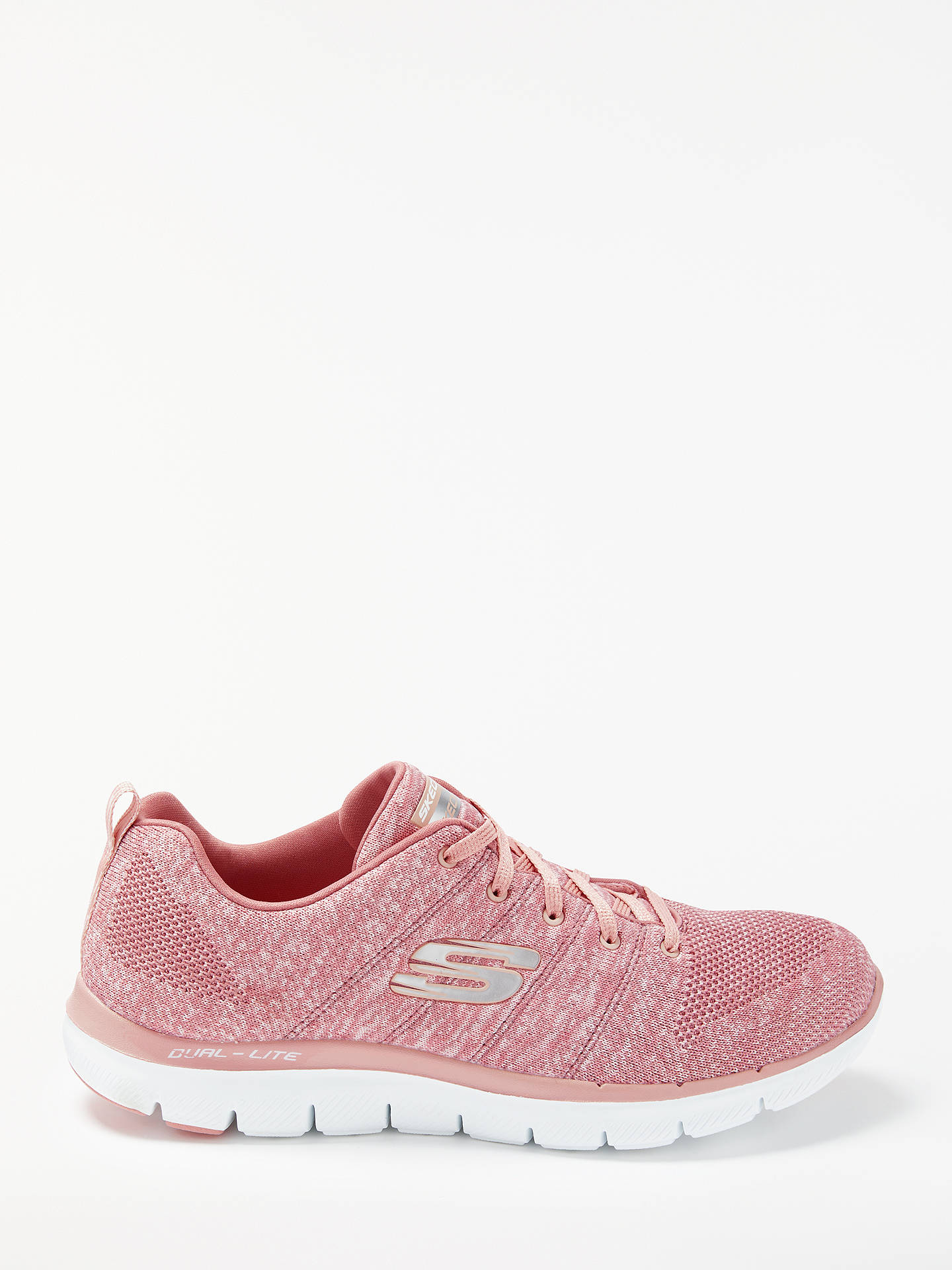 skechers pink trainers