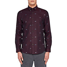 Buy Ted Baker Coupe Printed Long Sleeve Shirt Online at johnlewis.com