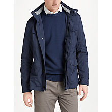 Buy Hackett London Jersey Lined Field Jacket Online at johnlewis.com