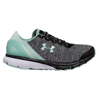 Under Armour Charged Escape Women's Running Shoes, Black/White/Mint