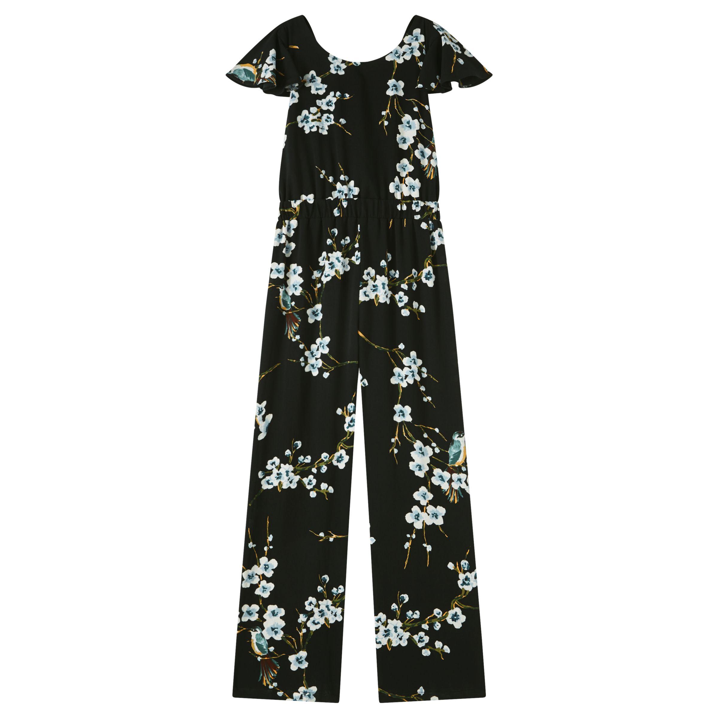 9492fba7f4 John Lewis   Partners Girls  Floral Jumpsuit
