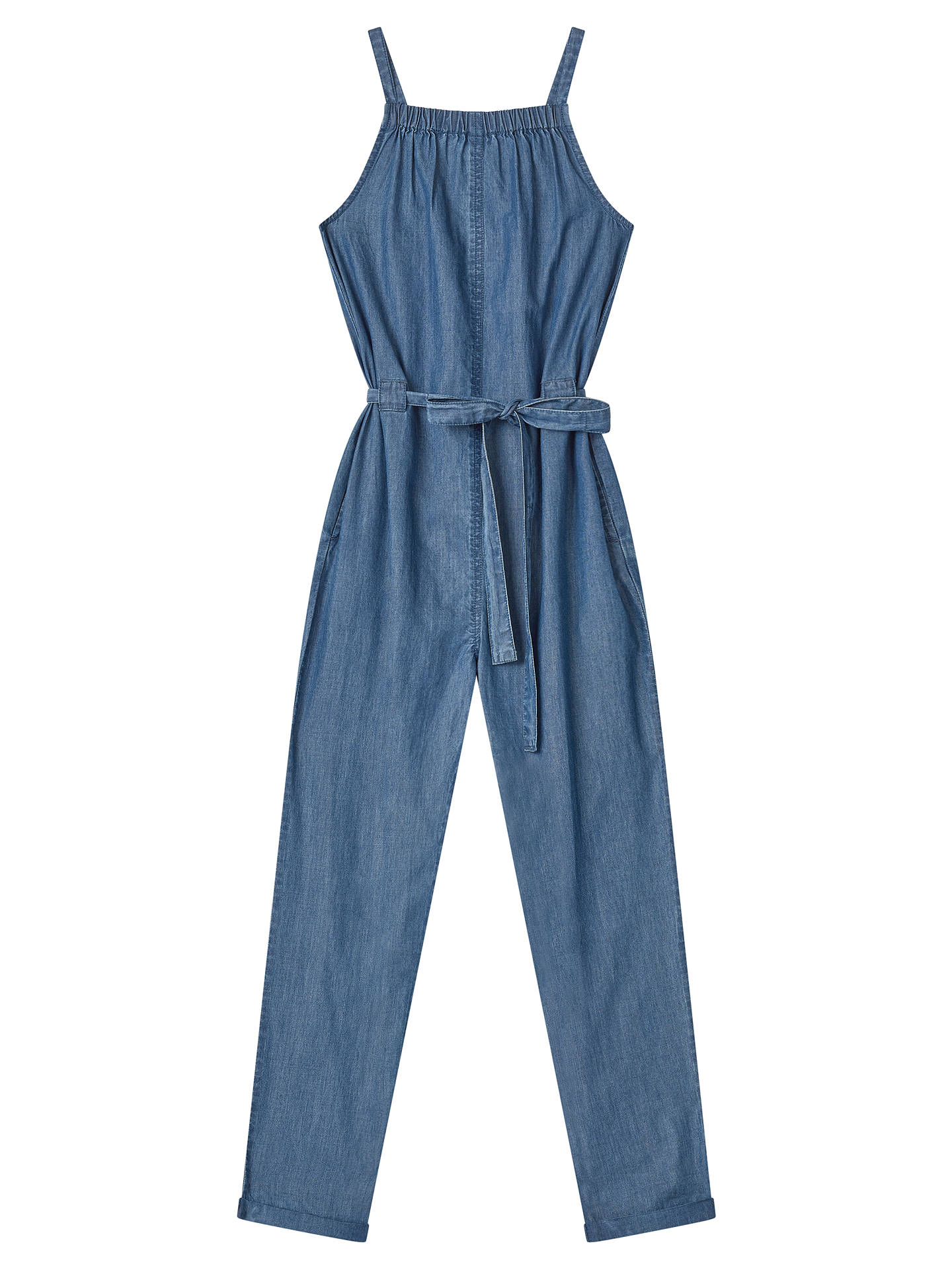 a6feaaa72f Buy John Lewis Girls  Chambray Jumpsuit