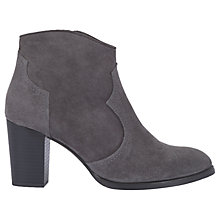 Buy Mint Velvet Addison Block Heeled Ankle Boots Online at johnlewis.com