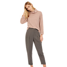 Buy Jaeger Tencel Drape Trousers, Grey Online at johnlewis.com