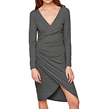 Buy Miss Selfridge Striped Wrap Dress, Multi Online at johnlewis.com