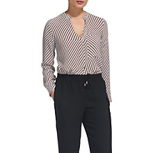 Buy Whistles Contrast Stripe Shirt, Multi Online at johnlewis.com