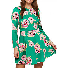Buy Miss Selfridge Floral Skater Dress, Multi Online at johnlewis.com