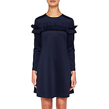 Buy Ted Baker Zufara Ruffle Bodice Tunic Dress Online at johnlewis.com
