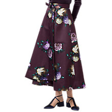 Buy Finery Moore Heritage Bloom Full Skirt, Purple/Multi Online at johnlewis.com