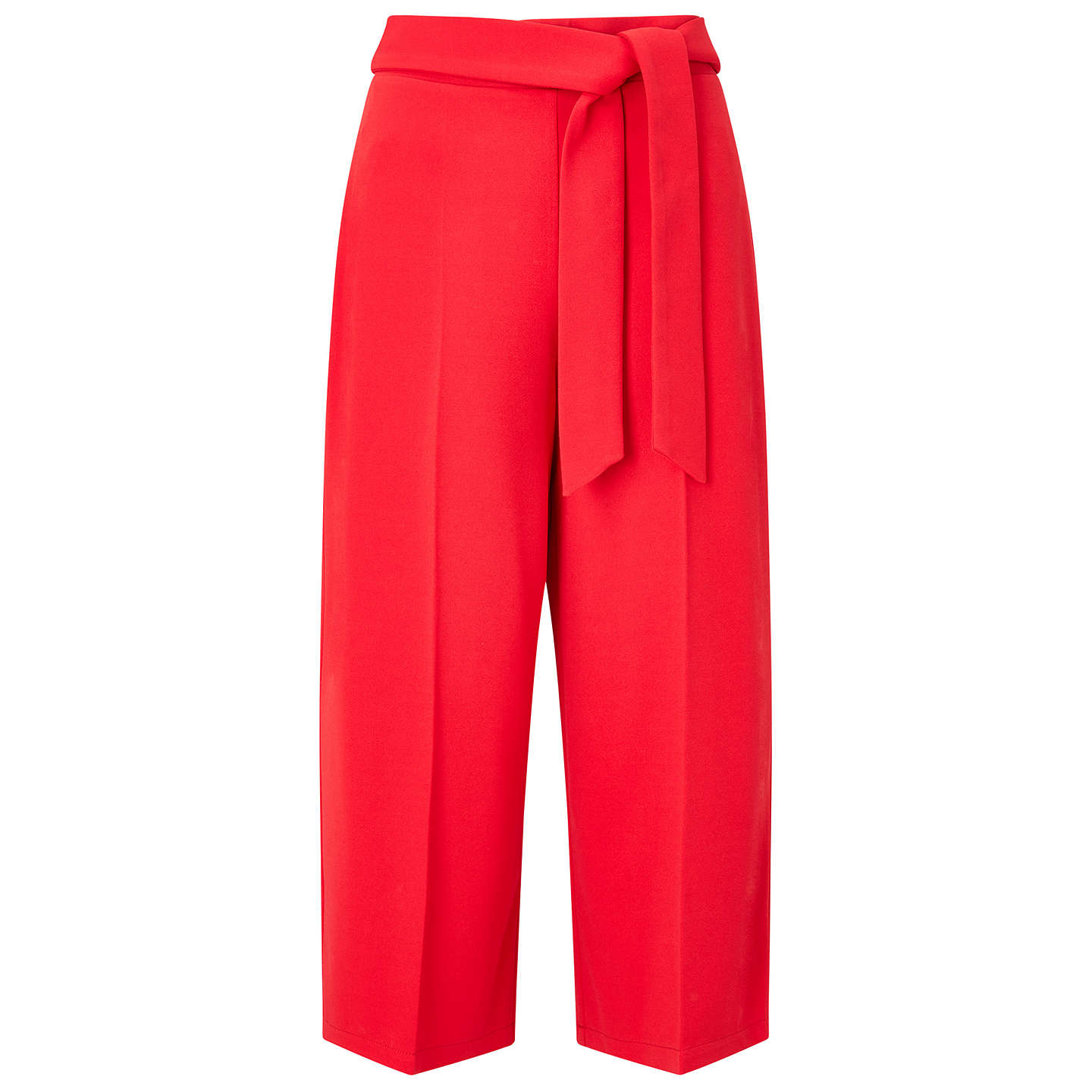 BuyMiss Selfridge Petite Culotte Trousers, Red, 6 Online at johnlewis.com