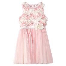 Buy Yumi Girl Multi Rose Embellished Prom Dress, Pink Online at johnlewis.com