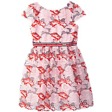 Buy Yumi Girl Seaside Floral Print Dress, Pink Online at johnlewis.com