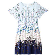 Buy Yumi Girl Ombre Ditsy Dress, Light Blue Online at johnlewis.com