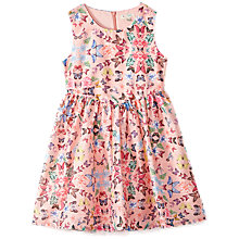 Buy Yumi Girl Butterfly Dress, Pink Online at johnlewis.com
