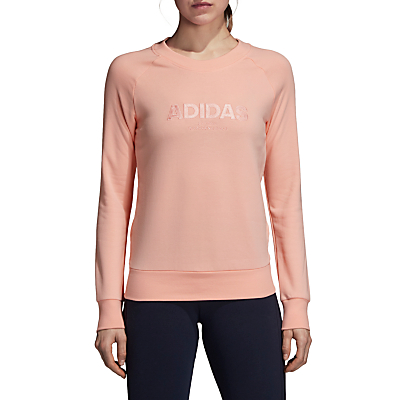 adidas Essentials Allcaps Sweatshirt, Haze Coral