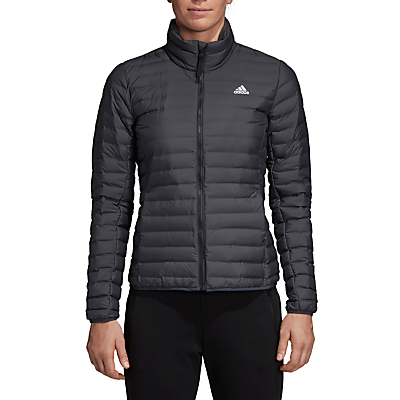 adidas Varilite Down Long Sleeve Puffer Women's Jacket, Carbon
