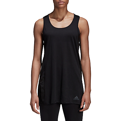 adidas ID Mesh Tank Top, Black