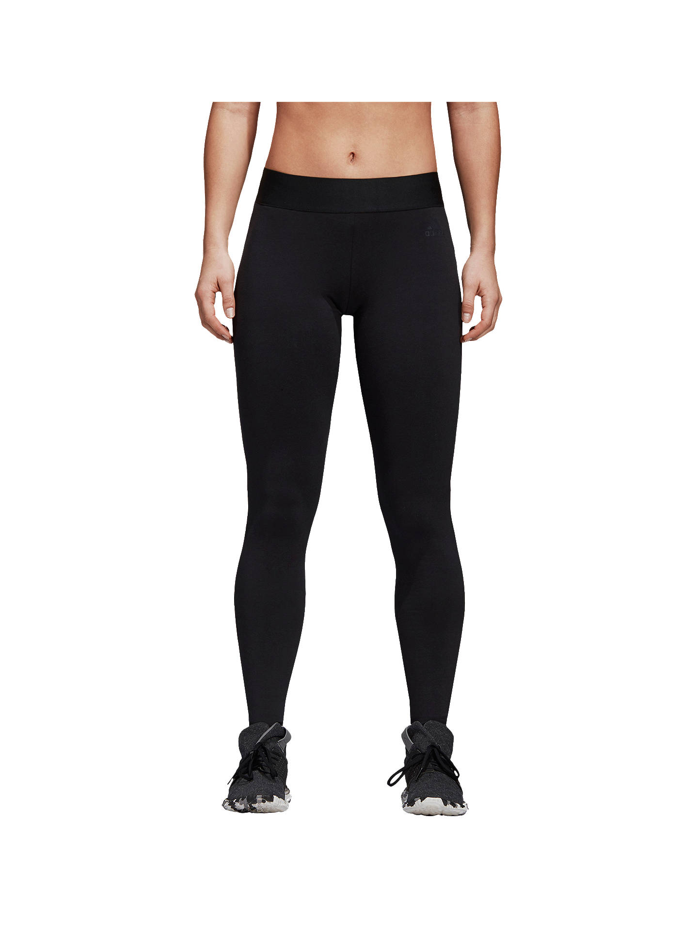 Buyadidas ID Mesh Training Tights, Black, XS Online at johnlewis.com