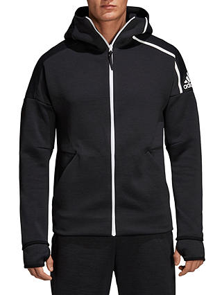 Buy adidas Z.N.E Fast Release Training Hoodie, Heather/Black, S Online at johnlewis.com