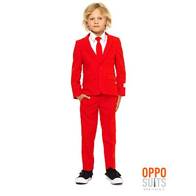 OppoSuits Red Devil Costume, Children's