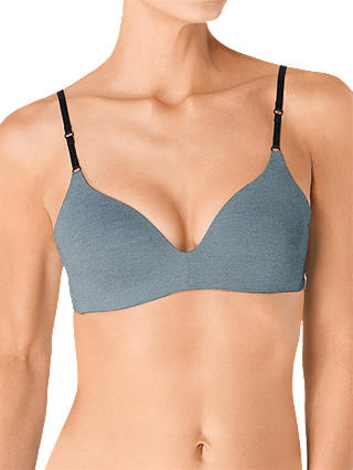 Buy S by sloggi Serenity Non Wired T-Shirt Bra, Grey/Multi, 34B Online at johnlewis.com