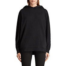 Buy AllSaints Jen Hoodie, Black Online at johnlewis.com