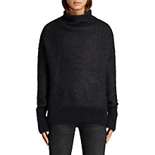 Buy AllSaints Deuce Cowl Neck Jumper Online at johnlewis.com