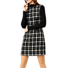 Buy Warehouse Tweed Check Dress, Multi Online at johnlewis.com