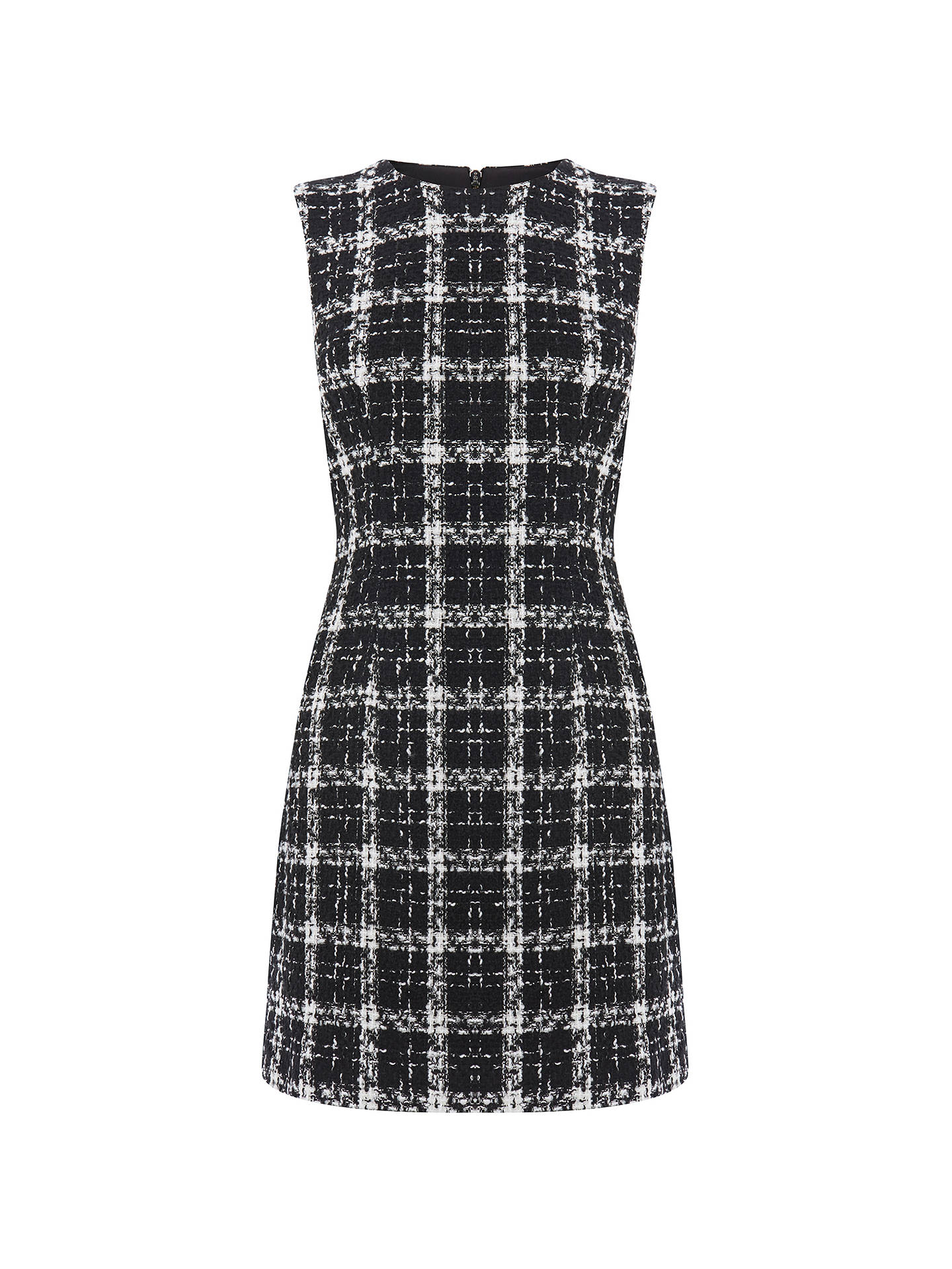 BuyWarehouse Tweed Check Dress, Multi, 6 Online at johnlewis.com
