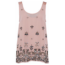 Buy French Connection Elsa Sparkle Strap Top Online at johnlewis.com