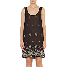 Buy French Connection Elsa Sparkle Strappy Dress, Black Online at johnlewis.com