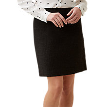 Buy Hobbs Henna Skirt, Black Online at johnlewis.com
