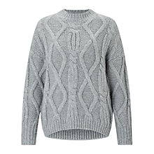 Buy Miss Selfridge Petite Chunky Knitted Jumper Online at johnlewis.com