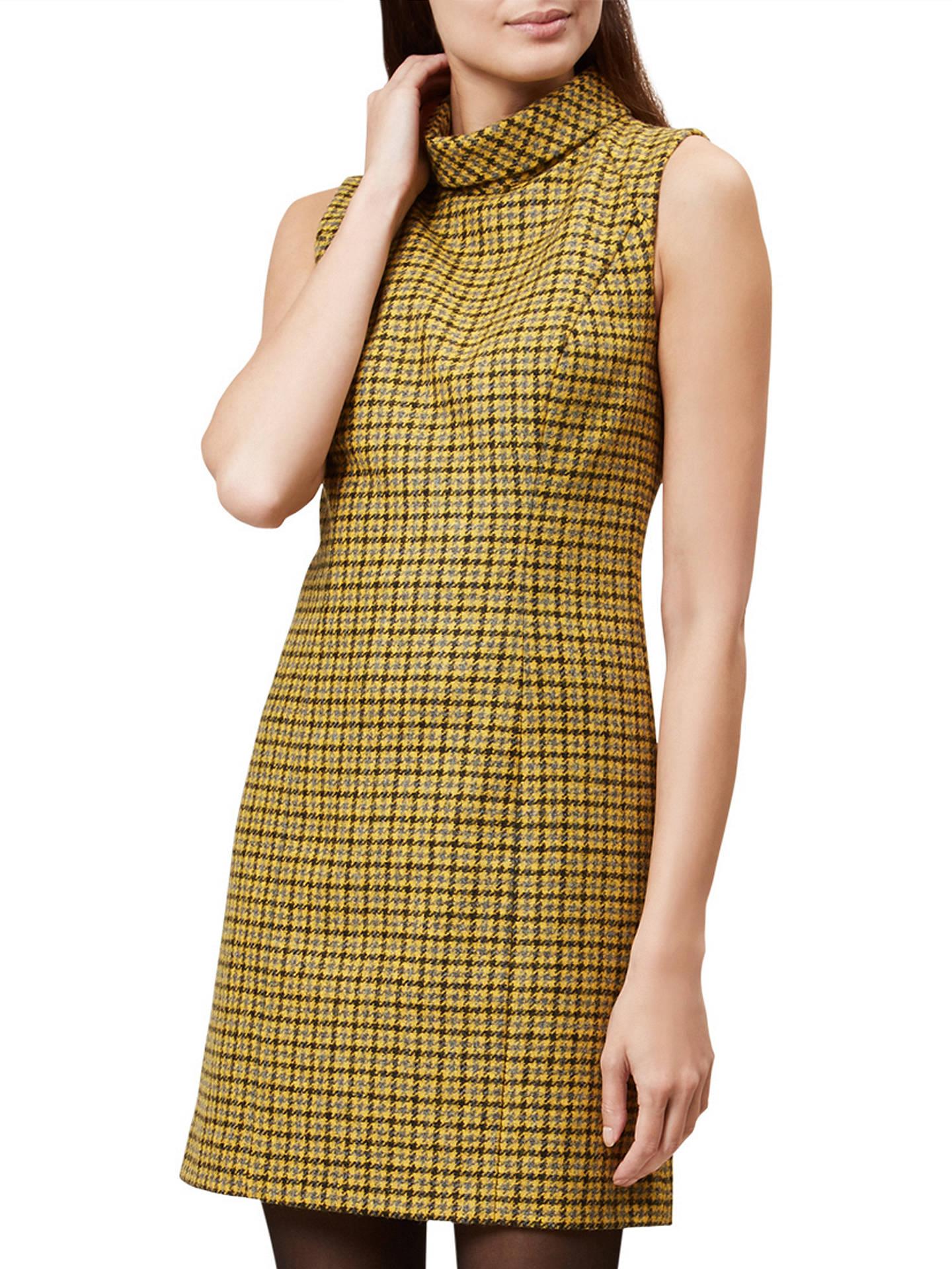 129a126cbd27 Buy Hobbs Dalby Wool Dress, Dandelion, 6 Online at johnlewis.com ...
