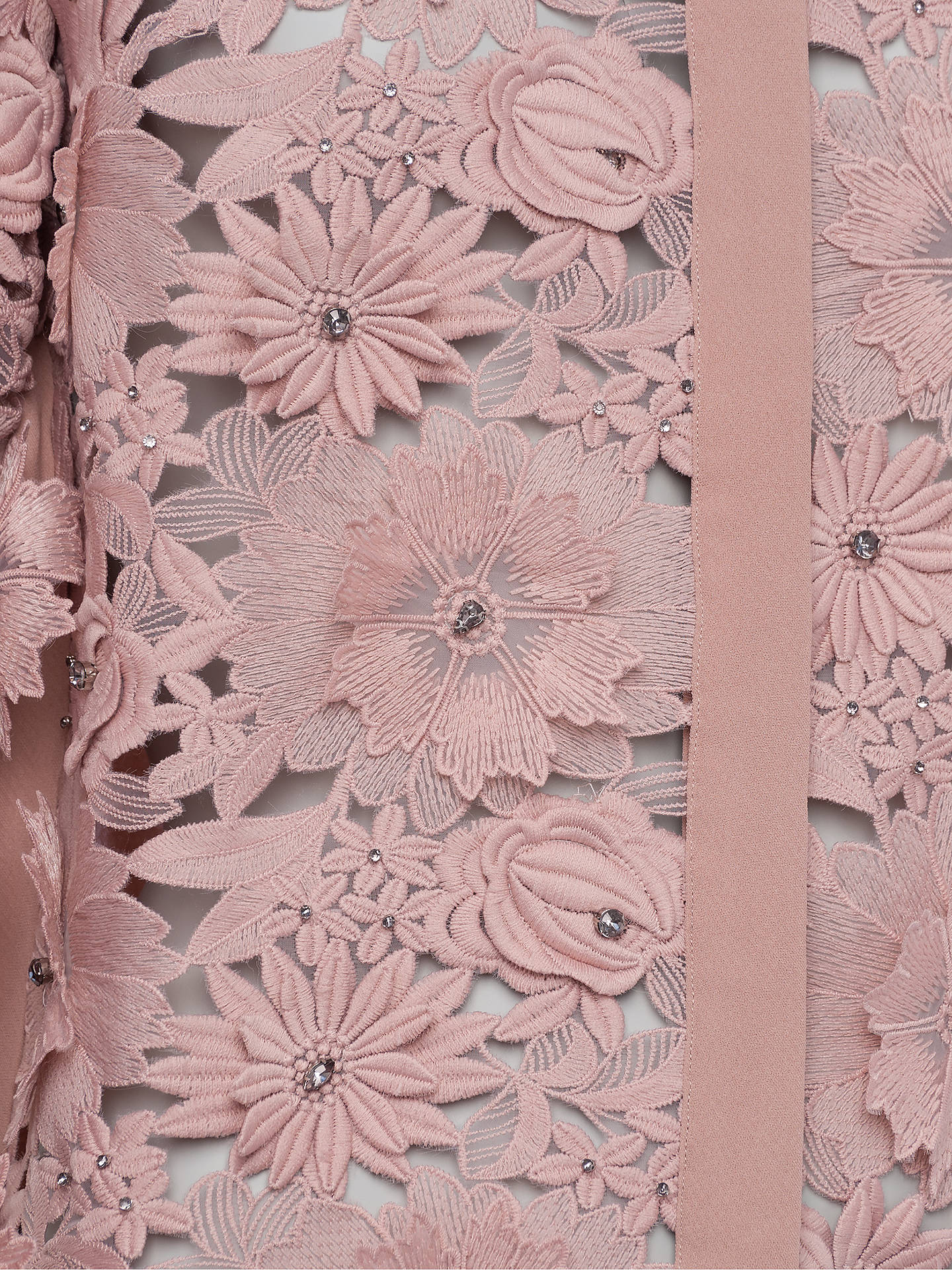 20354f17905 ... Buy French Connection Manzoni Lace Long Sleeve Shirt, Cinder Rose, 6  Online at johnlewis