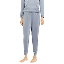 Buy Oasis Velour Joggers, Soft Blue Online at johnlewis.com
