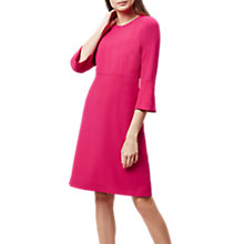 Buy Hobbs Cassie Dress, Lipstick Pink Online at johnlewis.com
