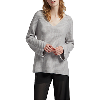 Image of French Connection Capsule Long Sleeve Jumper, Oyster Melange