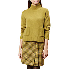 Buy Hobbs Carla Jumper, Ochre Melange Online at johnlewis.com