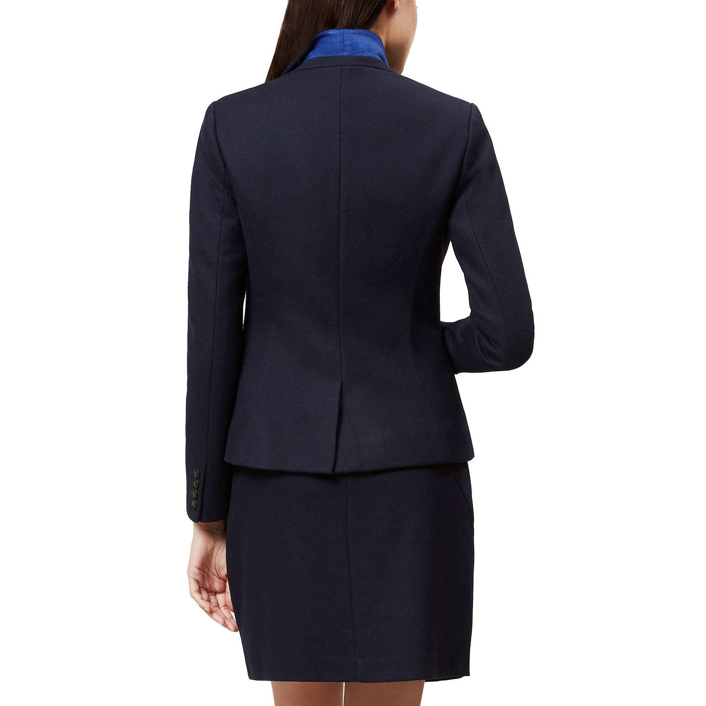 BuyHobbs Joella Jacket, Navy, 14 Online at johnlewis.com
