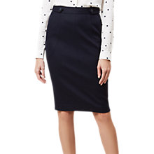 Buy Hobbs Joella Skirt, Navy Online at johnlewis.com